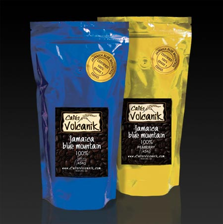 jamaica blue mountain coffee and peaberry