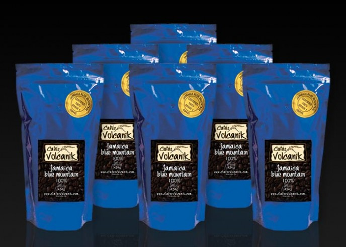 Jamaica Blue Mountain coffee 1 lb x 6