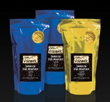 Café Jamaica Blue Mountain et Peaberry