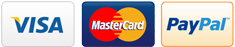 visa mastercard paypal