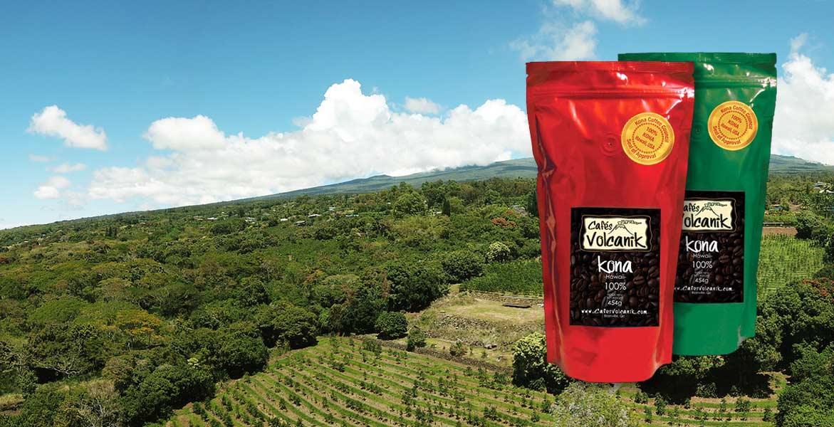 café kona de hawaï