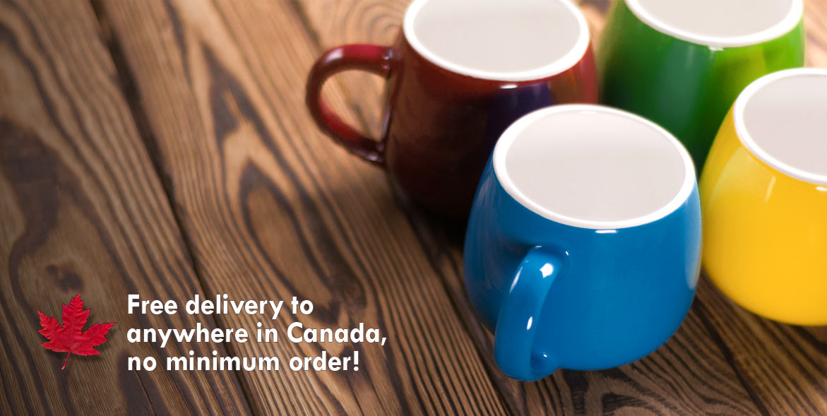 Free delivery in Canada